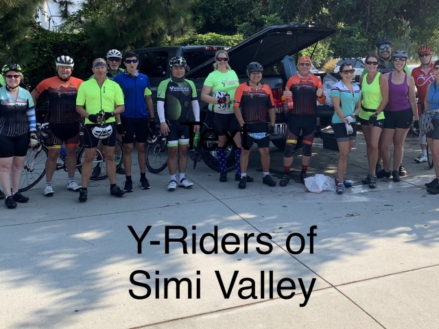 Becky Buck with Y-Riders of Simi Valley