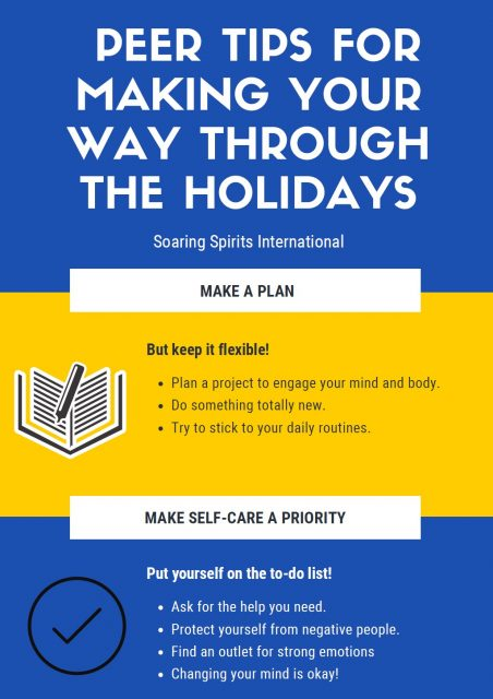 Peer Tips for Making Your Way Through the Holidays