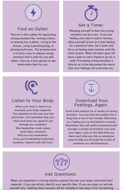 Tips for Managing Strong Emotions